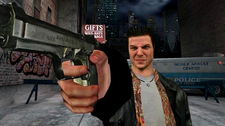 A man holding a gun